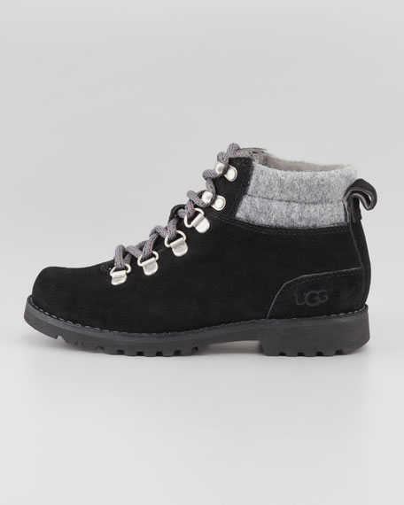 Barelo Suede Lace-Up Boot
