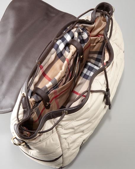 Messenger Diaper Bag, Trench