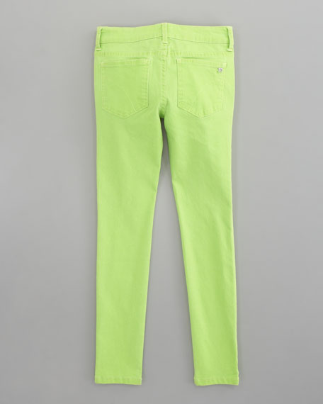Neon Denim Leggings, Sizes 2-6x