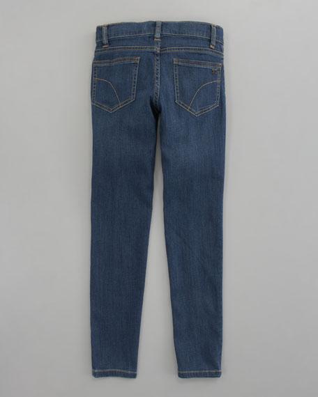 Denim Leggings, Sizes 8-10x
