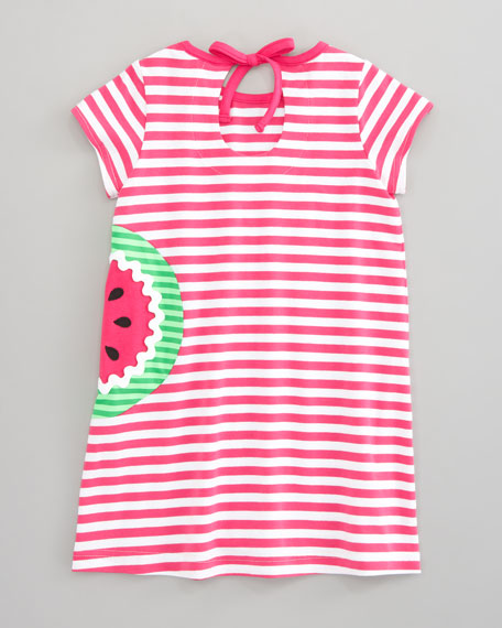 Watermelon Striped Tunic & Leggings Set, Sizes 4-6X