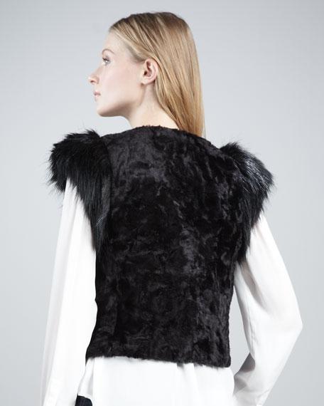 NM + Target Faux-Fur Vest