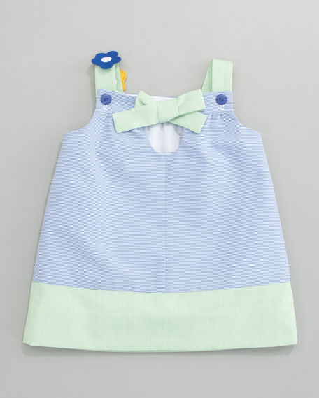 Spring Mix Dress & Bloomers Set, Sizes 3-9 Months