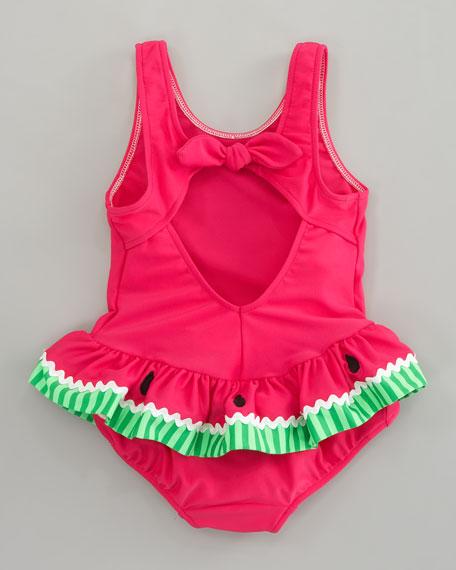 Watermelon Swimsuit, Sizes 12-24 Months