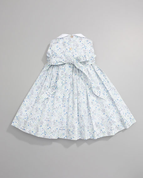 Flowers Pinafore Dress