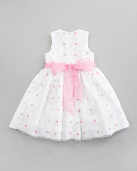 Sequin Daisy Dress
