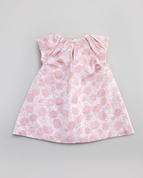 Floral-Print Dress, Sizes 1 -12 Months