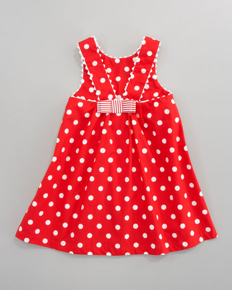 Tablier Polka-Dot Dress