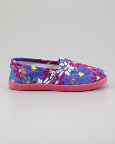 Daisy Print Slip-On, Youth