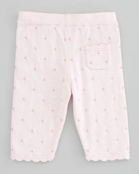 Tracy Dot Knit Cardigan & Pant Set