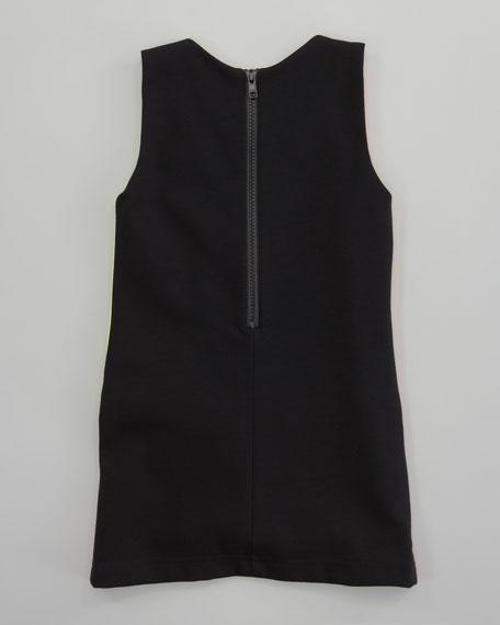 Colorblock Mod Shift Dress, Sizes 8-10