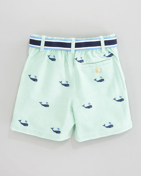 Ralph Lauren Childrenswear Schiffli Embroidered Shorts & Polo Set, 3-9 mo.