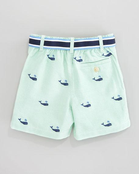 Schiffli Embroidered Shorts & Polo Set, 3-9 mo.