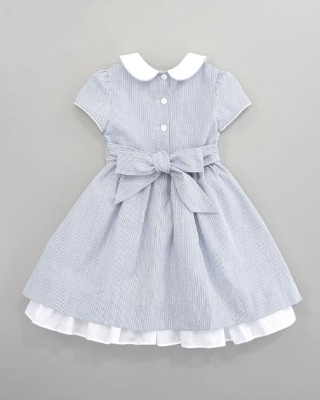 Anna Seersucker Dress