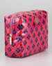 Brigitte Large Cosmetic Bag, Party Fuchsia