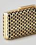 Minna Cage Clutch Bag, Gold