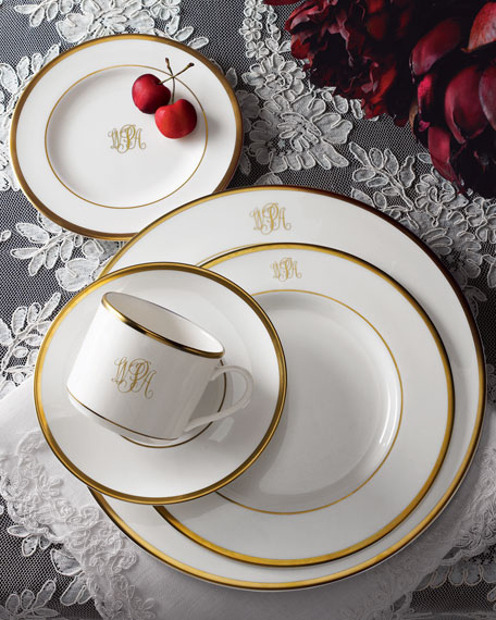 Monogrammed Five-Piece w/ Margaret Cup