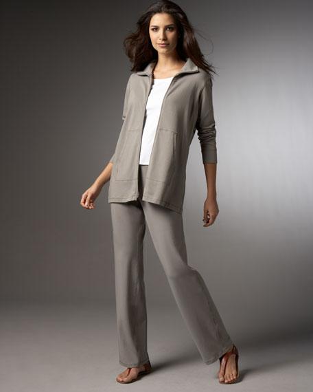 Organic Cotton Pants, Petite