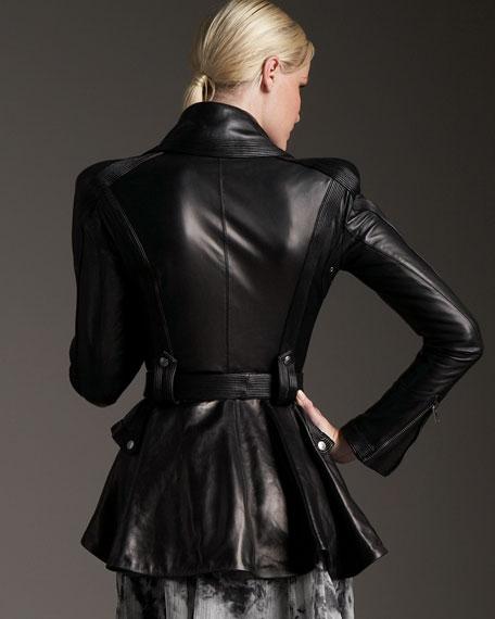 Leather Riding Jacket