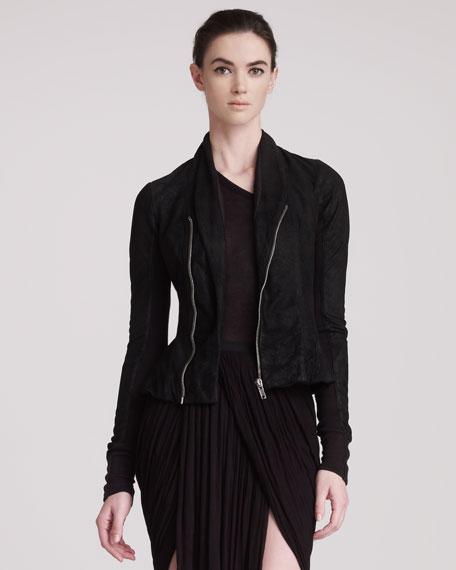 Blister Leather Jacket