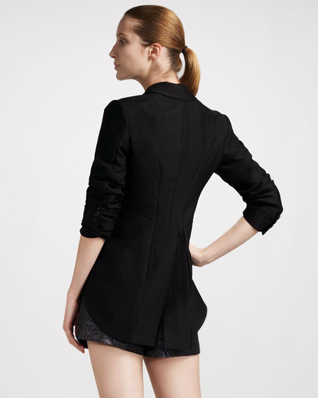 Wool-Blend Tailcoat