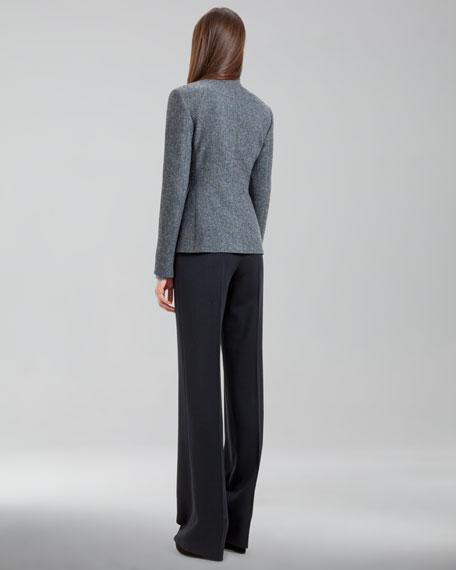 Carla Wide-Leg Pants, Navy
