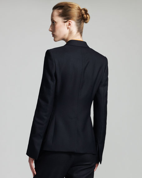 Three-Button Equestrienne Jacket