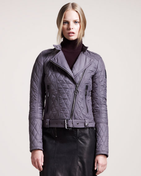 Longston Quilted Motorcycle Jacket