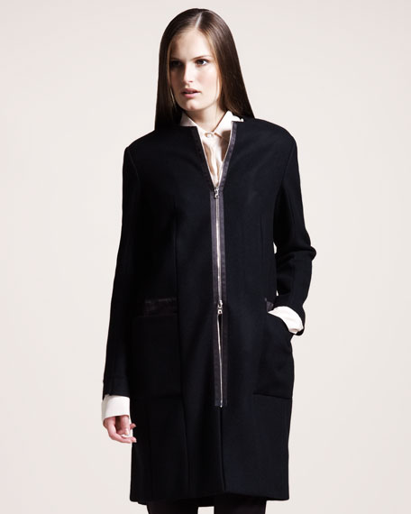 Felted Melton Coat