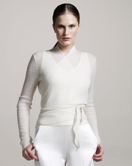 Ballet Wrap Sweater