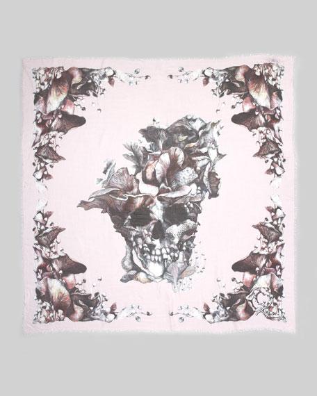 Mushroom-Skull Scarf