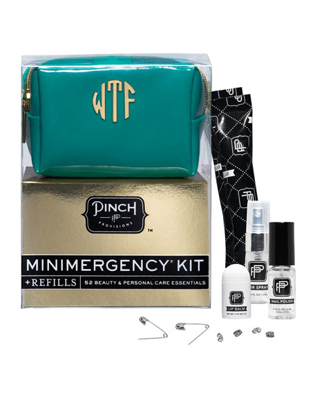Minimergency Kit For Her With Refill, Teal