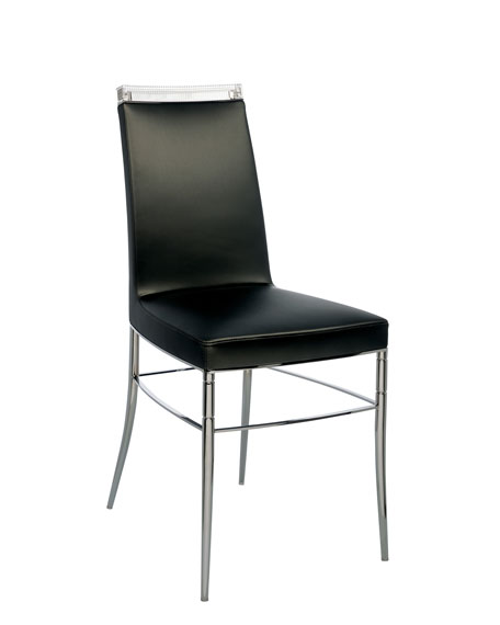 Crystal-Topped Chair