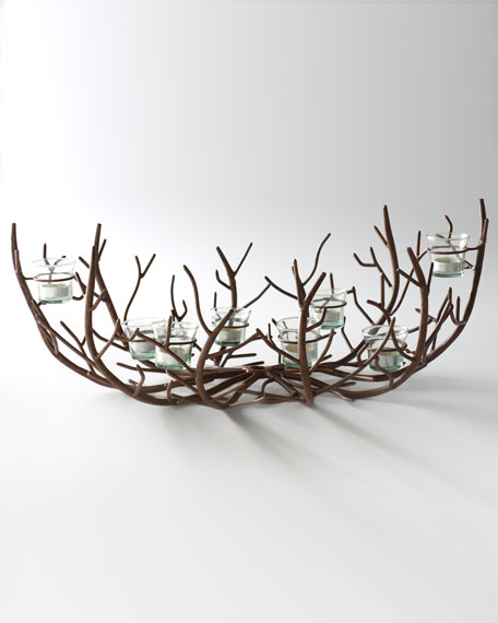 """Alpine"" Twig Centerpiece"