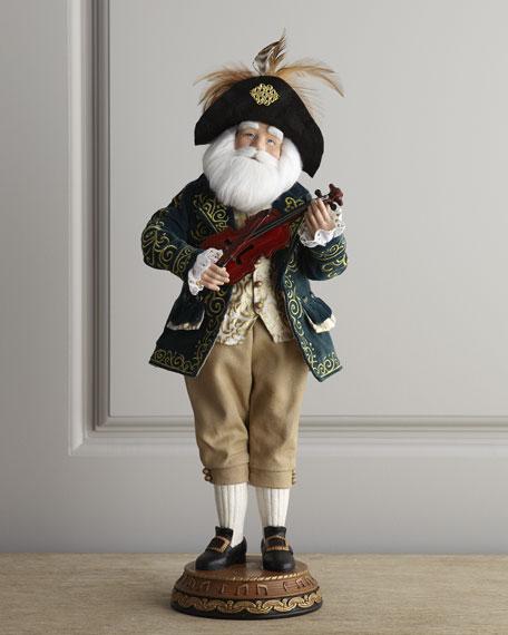 """French Musician"" Santa Claus"