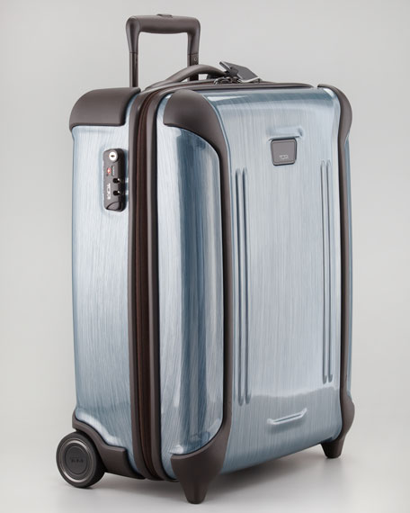 Vapor Continental Two-Wheeled Carry-On, Peacock
