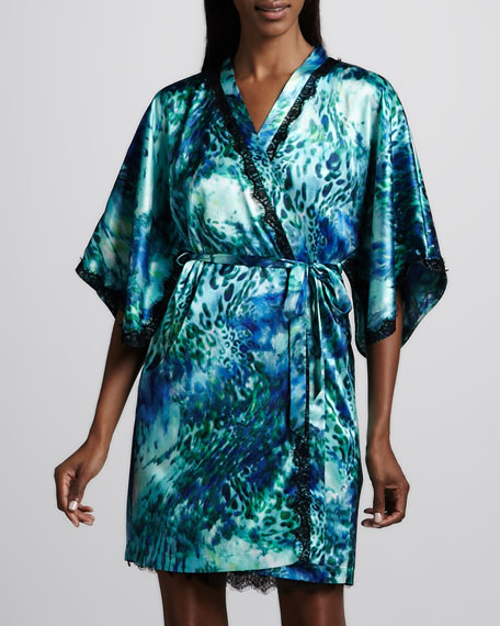 Oceanscape Robe, Short