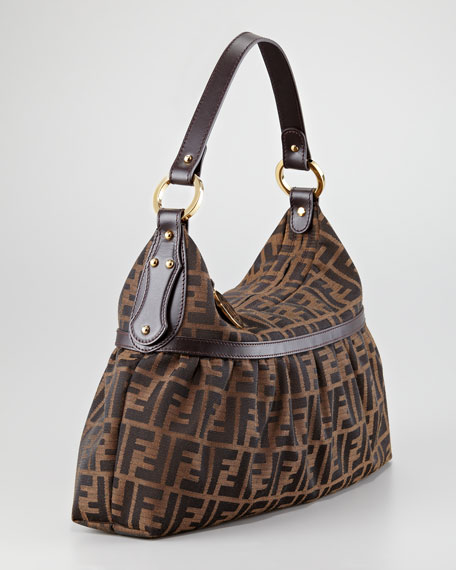 Large Chef Zucca Hobo Bag