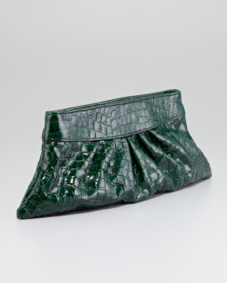 Louise Evening Clutch Bag, Emerald