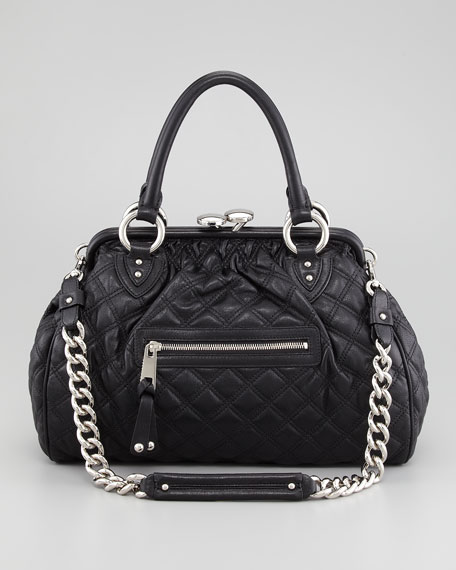 Stam Quilted Satchel Bag