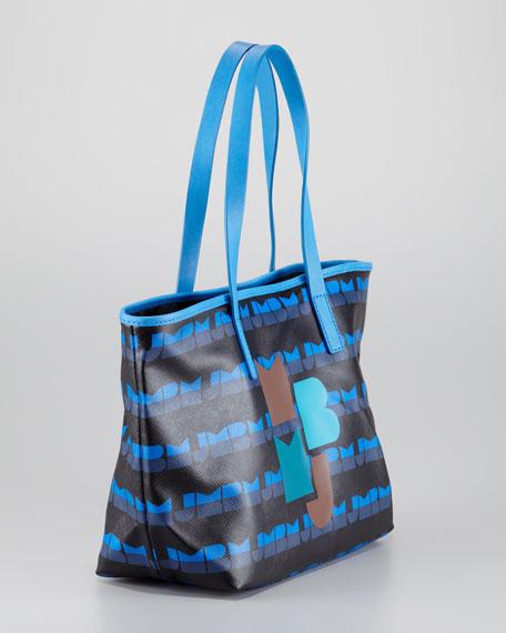 Eazy Small Tote Bag, Dark Teal
