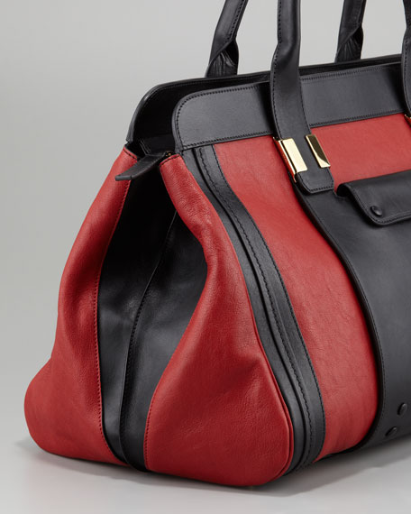 Alice Springs Large Tote Bag, Hollyberry