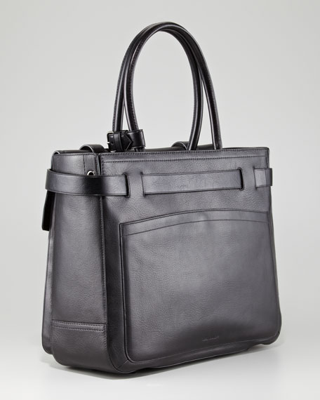 Boxer I Tote Bag, Black