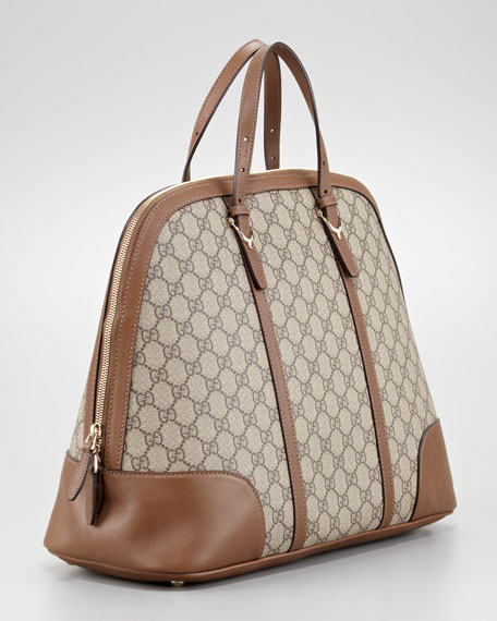 Bugatti North South Dome Bag Beige Medium Brown