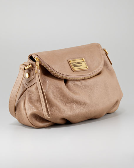 Classic Q Natasha Crossbody Bag, Praline