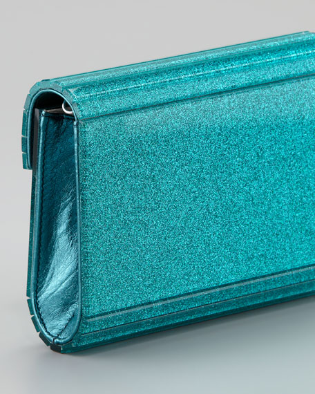 Candy Clutch Bag, Turquoise