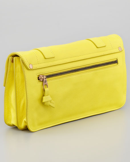 PS1 Pouchette Clutch Bag, Sunshine