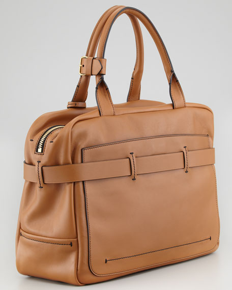 Fighter Satchel Bag, Saddle