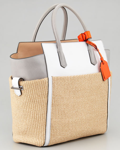 Atlantique Tote Bag, Decoy Ash Multi