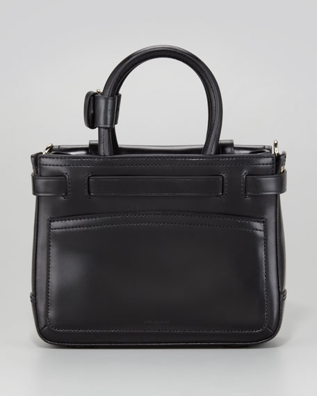Boxer Micro Tote Bag, Black